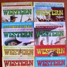 Tebeos: WESTERN - EDITORIAL VALENCIANA 1982 - COLECCION COMPLETA, 12 TEBEOS. Lote 127732515