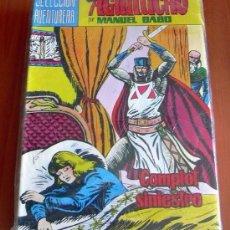 Tebeos: EL AGUILUCHO - EDITORIAL VALENCIANA 1981 - COLECCION COMPLETA, 42 TEBEOS. Lote 127732755