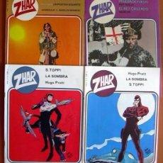 Tebeos: ZHAR - EDITORIAL VALENCIANA 1983 - COLECCION COMPLETA, 4 CUADERNOS. Lote 127733299