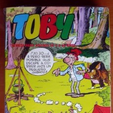 Tebeos: TOBY - EDITORIAL VALENCIANA 1983 - COMPLETA, 23 EJEMPLARES. Lote 127733559