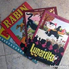 Tebeos: CINE CUENTO - EDITORIAL VALENCIANA 1962 - COMPLETA 4 TEBEOS. Lote 127762107