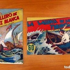 Tebeos: AVENTURAS Y MISTERIO - COLECCIÓN COMPLETA 2 TEBEOS - EDITORIAL HISPANO AMERICANA 1940, VER FOTOS. Lote 127822451