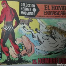 Tebeos: ¡¡¡ EL HOMBRE ENMASCARADO ¡¡¡ HEROES MODERNOS SERIE A. N° 1 AL 75 COMPLETO ¡¡ IMPECABLE ¡¡ ORIGINAL. Lote 127848815