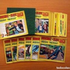 Tebeos: JOHNNY PACIFICO - COLECCIÓN COMPLETA, 31 EJEMPLARES, CON ESTUCHE - EDITORIAL MAGA 1965, VER FOTOS. Lote 127856275