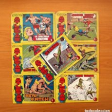 Tebeos: ATLETAS - COLECCIÓN COMPLETA, 7 TEBEOS - EDITORIAL MAGA 1958, VER FOTOS. Lote 127858039