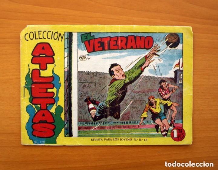 Tebeos: Atletas - Colección completa, 7 tebeos - Editorial Maga 1958, ver fotos - Foto 2 - 127858039