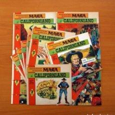 Tebeos: EL CALIFORNIANO - COLECCIÓN COMPLETA, 22 CUADERNOS - EDITORIAL MAGA 1965, VER FOTOS. Lote 127864391