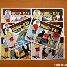 Tebeos: BORO - KAY - COMPLETA, 8 CUADERNOS - PUBLICADA POR CARSOTO EN 1956., VER FOTOS. Lote 127865251