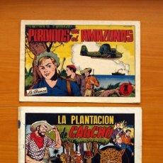 Tebeos: PEPE, RUIZ Y PUJOL - NÚMEROS 1 Y 3 - EDITORIAL HISPANO AMERICANA 1944. Lote 128224743