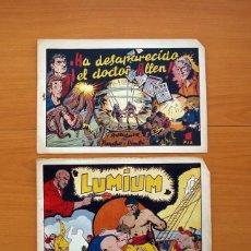 Tebeos: AVENTURA DE PANCHO Y DIMBI - COLECCIÓN COMPLETA, 2 CUADERNOS -EDITORIAL HISPANO AMERICANA 1945. Lote 128225895