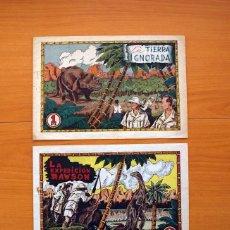 Tebeos: LA EXPEDICIÓN RAWSON - COLECCIÓN COMPLETA, 2 CUADERNOS -EDITORIAL HISPANO AMERICANA 1941 - VER FOTOS. Lote 128226567
