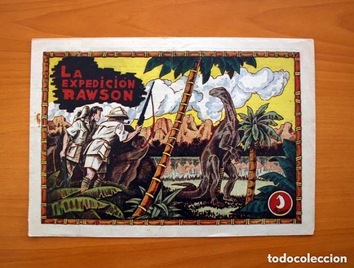 Tebeos: La expedición Rawson - Colección completa, 2 cuadernos -Editorial Hispano Americana 1941 - Ver fotos - Foto 6 - 128226567