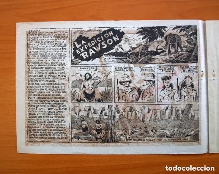 Tebeos: La expedición Rawson - Colección completa, 2 cuadernos -Editorial Hispano Americana 1941 - Ver fotos - Foto 7 - 128226567