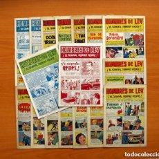 Tebeos: HOMBRES DE LEY - EDITORIAL CREO 1961 - COLECCIÓN COMPLETA 23 EJEMPLARES, VER FOTOS. Lote 128244671