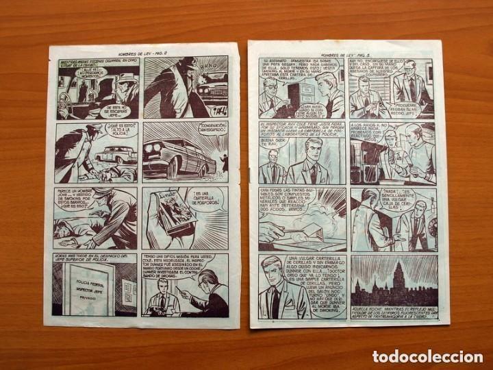 Tebeos: Hombres de Ley - Editorial Creo 1961 - Colección Completa 23 ejemplares, ver fotos - Foto 3 - 128244671