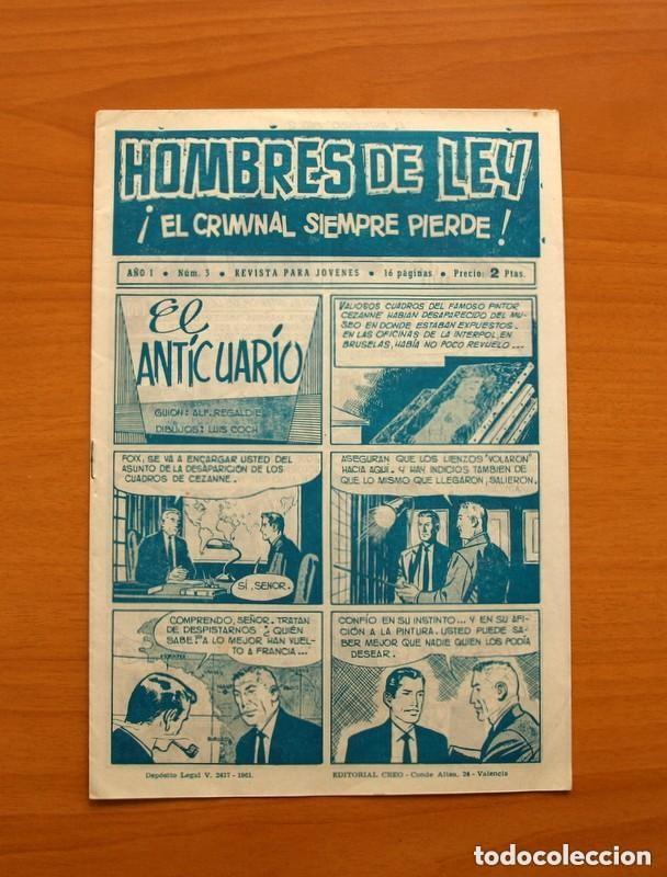 Tebeos: Hombres de Ley - Editorial Creo 1961 - Colección Completa 23 ejemplares, ver fotos - Foto 7 - 128244671