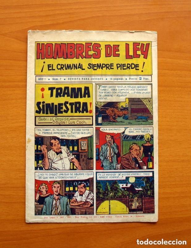 Tebeos: Hombres de Ley - Editorial Creo 1961 - Colección Completa 23 ejemplares, ver fotos - Foto 15 - 128244671