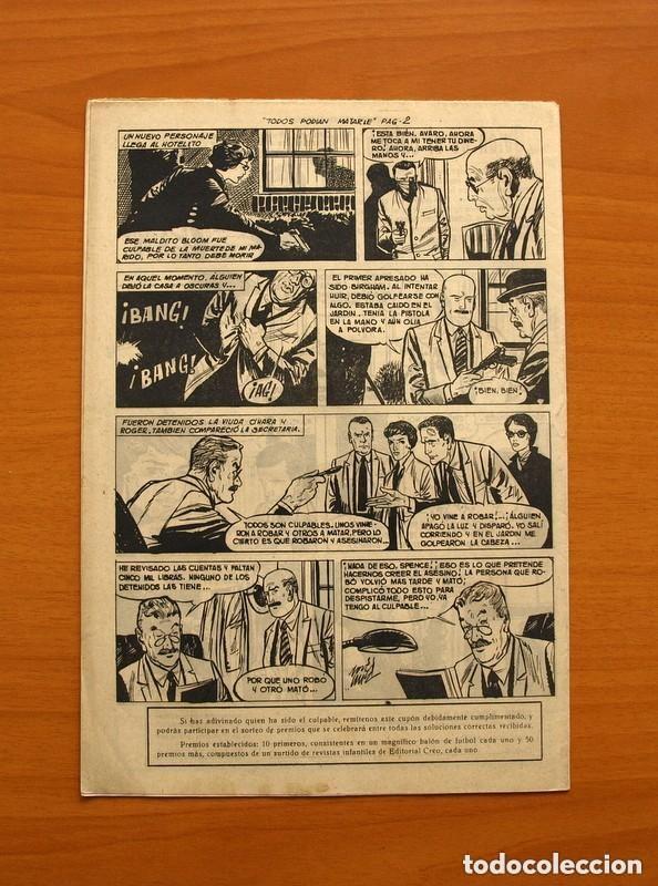 Tebeos: Hombres de Ley - Editorial Creo 1961 - Colección Completa 23 ejemplares, ver fotos - Foto 20 - 128244671