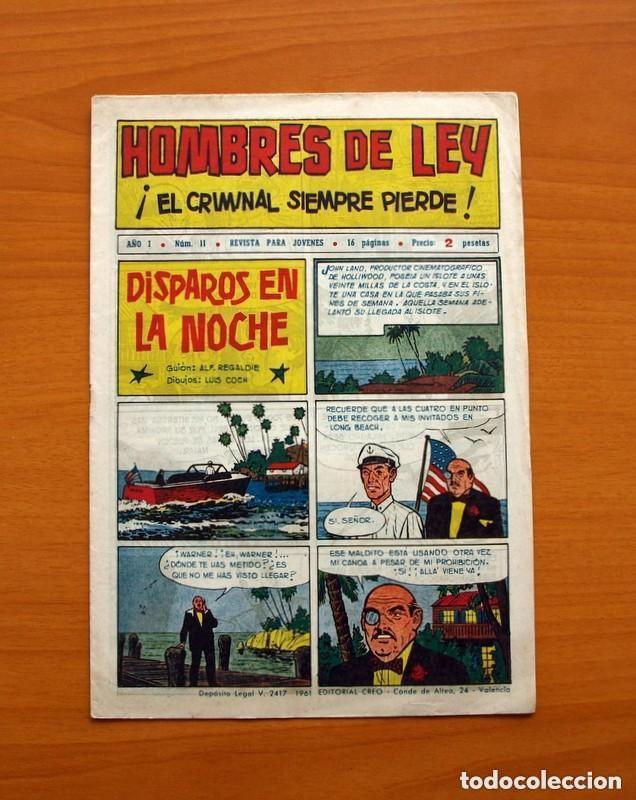 Tebeos: Hombres de Ley - Editorial Creo 1961 - Colección Completa 23 ejemplares, ver fotos - Foto 23 - 128244671
