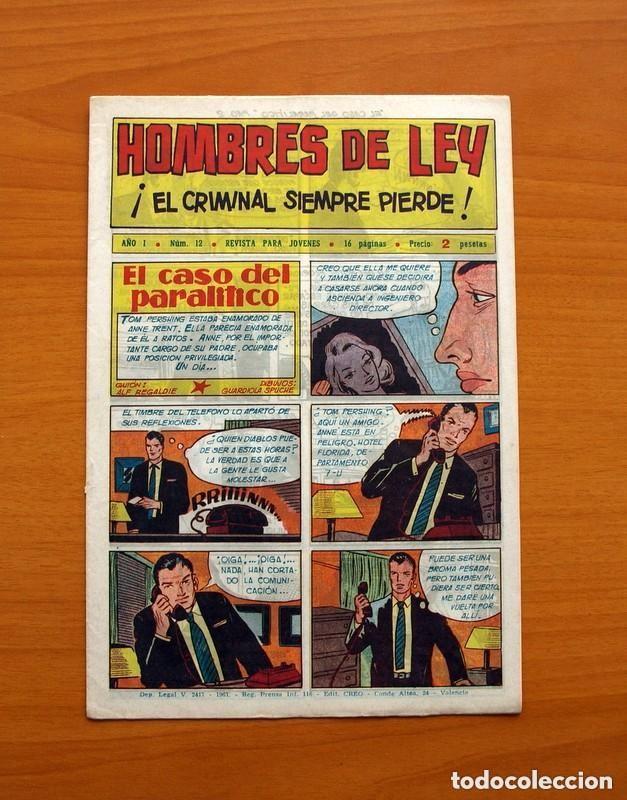 Tebeos: Hombres de Ley - Editorial Creo 1961 - Colección Completa 23 ejemplares, ver fotos - Foto 25 - 128244671