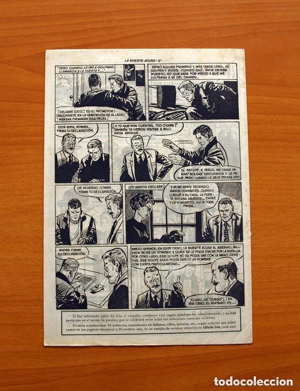 Tebeos: Hombres de Ley - Editorial Creo 1961 - Colección Completa 23 ejemplares, ver fotos - Foto 26 - 128244671