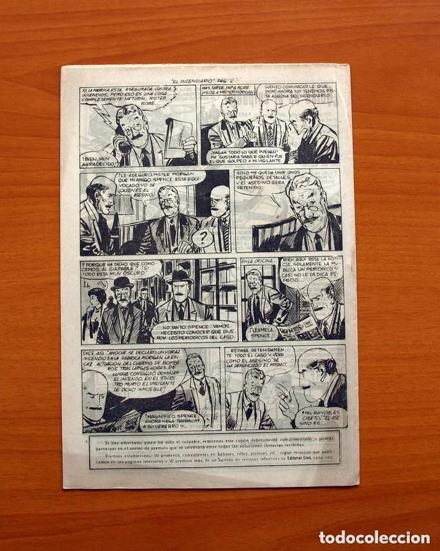 Tebeos: Hombres de Ley - Editorial Creo 1961 - Colección Completa 23 ejemplares, ver fotos - Foto 30 - 128244671