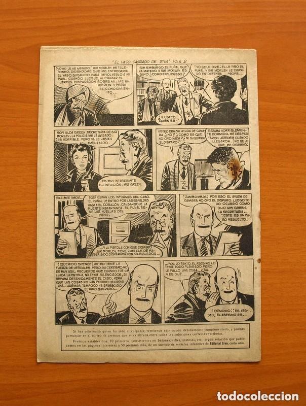 Tebeos: Hombres de Ley - Editorial Creo 1961 - Colección Completa 23 ejemplares, ver fotos - Foto 34 - 128244671