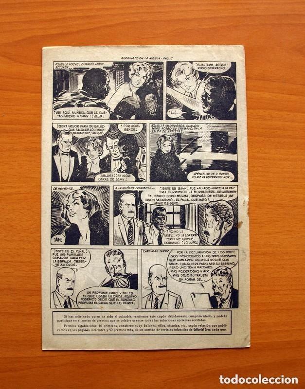 Tebeos: Hombres de Ley - Editorial Creo 1961 - Colección Completa 23 ejemplares, ver fotos - Foto 36 - 128244671