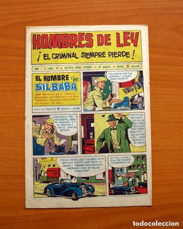 Tebeos: Hombres de Ley - Editorial Creo 1961 - Colección Completa 23 ejemplares, ver fotos - Foto 37 - 128244671