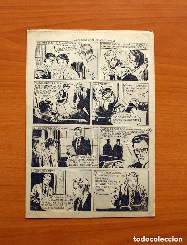 Tebeos: Hombres de Ley - Editorial Creo 1961 - Colección Completa 23 ejemplares, ver fotos - Foto 42 - 128244671