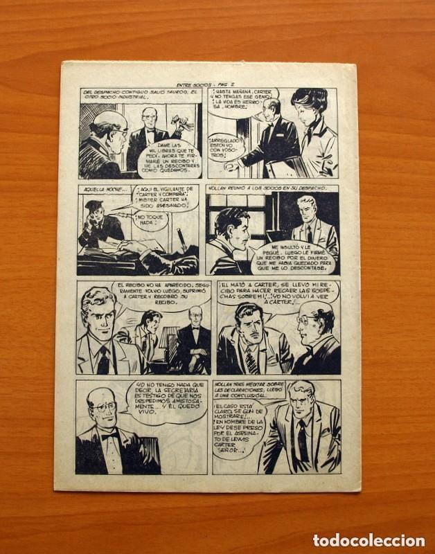 Tebeos: Hombres de Ley - Editorial Creo 1961 - Colección Completa 23 ejemplares, ver fotos - Foto 44 - 128244671