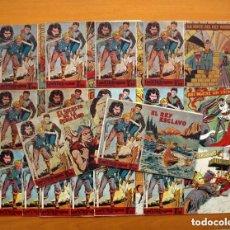 Tebeos: LOS VIKINGOS - EDITORIAL MATEU 1959 - COLECCIÓN COMPLETA, 16 CUADERNOS, VER FOTOS. Lote 128245159