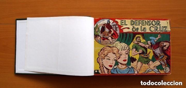 EL DEFENSOR DE LA CRUZ - COLEC. COMPLETA ENCUADERNADA - 54 TEBEOS, EDITORIAL MAGA EN 1956, VER FOTOS (Tebeos y Comics - Tebeos Colecciones y Lotes Avanzados)