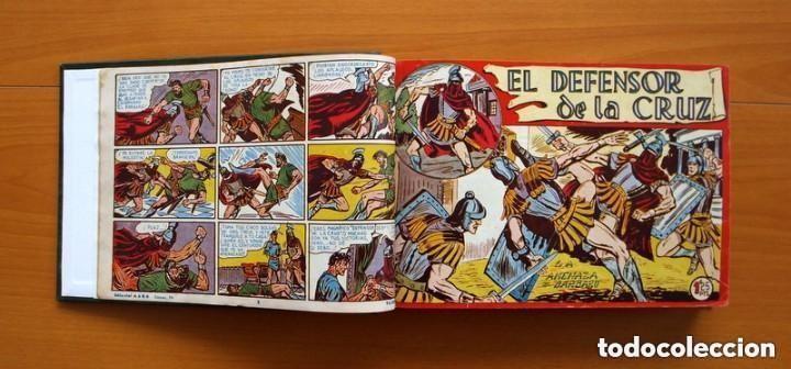 Tebeos: El Defensor de la Cruz - Colec. completa encuadernada - 54 tebeos, Editorial Maga en 1956, ver fotos - Foto 7 - 128247631
