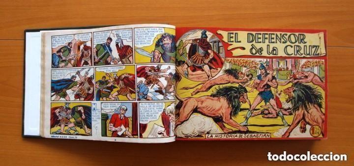 Tebeos: El Defensor de la Cruz - Colec. completa encuadernada - 54 tebeos, Editorial Maga en 1956, ver fotos - Foto 9 - 128247631
