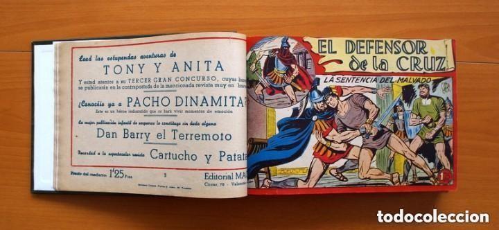 Tebeos: El Defensor de la Cruz - Colec. completa encuadernada - 54 tebeos, Editorial Maga en 1956, ver fotos - Foto 11 - 128247631