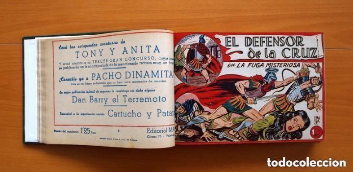 Tebeos: El Defensor de la Cruz - Colec. completa encuadernada - 54 tebeos, Editorial Maga en 1956, ver fotos - Foto 15 - 128247631