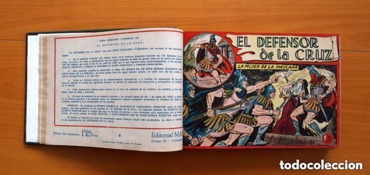 Tebeos: El Defensor de la Cruz - Colec. completa encuadernada - 54 tebeos, Editorial Maga en 1956, ver fotos - Foto 17 - 128247631