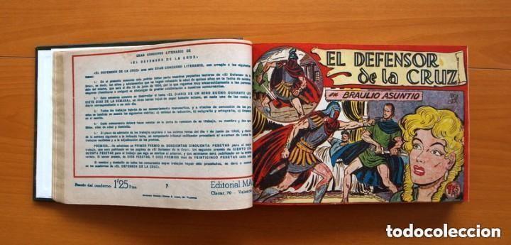 Tebeos: El Defensor de la Cruz - Colec. completa encuadernada - 54 tebeos, Editorial Maga en 1956, ver fotos - Foto 19 - 128247631
