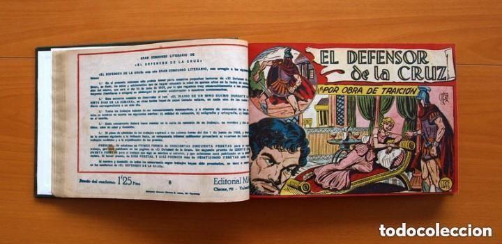 Tebeos: El Defensor de la Cruz - Colec. completa encuadernada - 54 tebeos, Editorial Maga en 1956, ver fotos - Foto 21 - 128247631