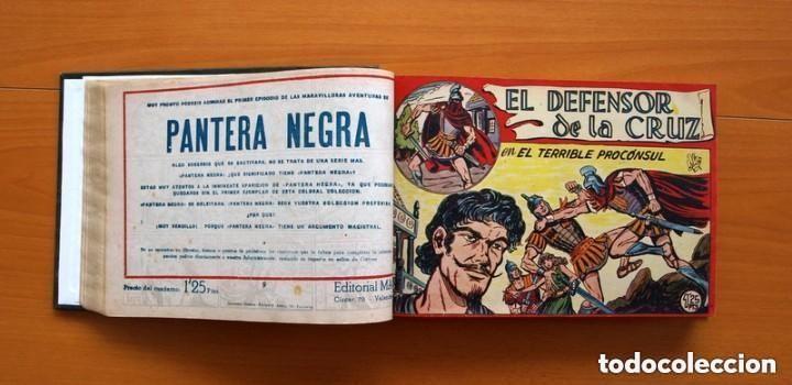 Tebeos: El Defensor de la Cruz - Colec. completa encuadernada - 54 tebeos, Editorial Maga en 1956, ver fotos - Foto 22 - 128247631