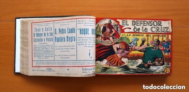 Tebeos: El Defensor de la Cruz - Colec. completa encuadernada - 54 tebeos, Editorial Maga en 1956, ver fotos - Foto 24 - 128247631