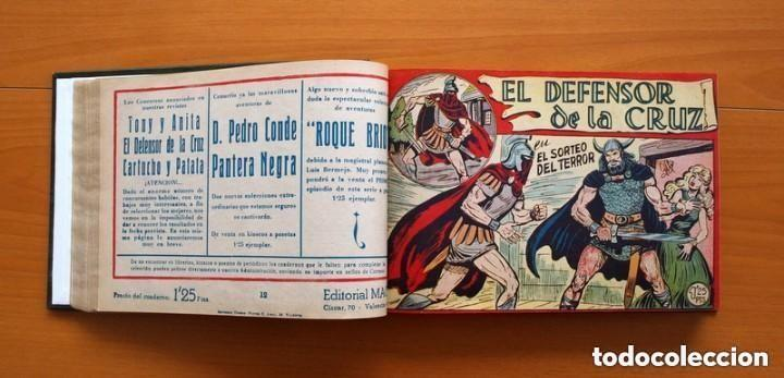 Tebeos: El Defensor de la Cruz - Colec. completa encuadernada - 54 tebeos, Editorial Maga en 1956, ver fotos - Foto 25 - 128247631