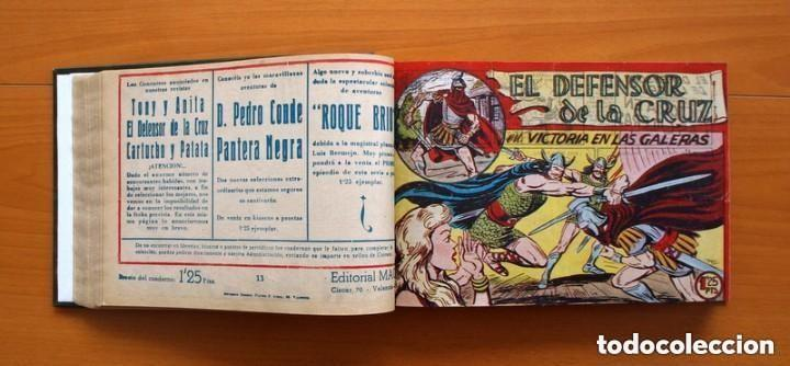 Tebeos: El Defensor de la Cruz - Colec. completa encuadernada - 54 tebeos, Editorial Maga en 1956, ver fotos - Foto 26 - 128247631