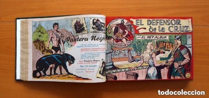 Tebeos: El Defensor de la Cruz - Colec. completa encuadernada - 54 tebeos, Editorial Maga en 1956, ver fotos - Foto 27 - 128247631