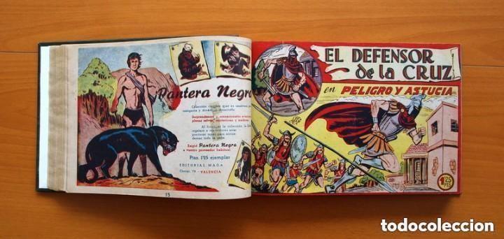 Tebeos: El Defensor de la Cruz - Colec. completa encuadernada - 54 tebeos, Editorial Maga en 1956, ver fotos - Foto 28 - 128247631