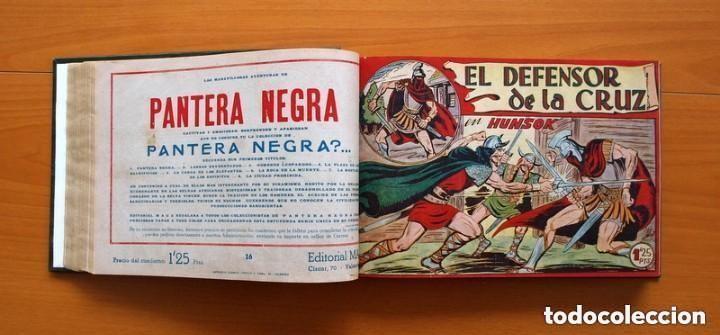 Tebeos: El Defensor de la Cruz - Colec. completa encuadernada - 54 tebeos, Editorial Maga en 1956, ver fotos - Foto 29 - 128247631