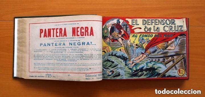 Tebeos: El Defensor de la Cruz - Colec. completa encuadernada - 54 tebeos, Editorial Maga en 1956, ver fotos - Foto 30 - 128247631