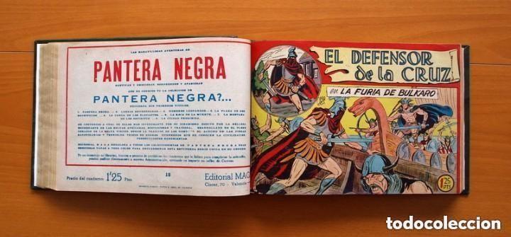 Tebeos: El Defensor de la Cruz - Colec. completa encuadernada - 54 tebeos, Editorial Maga en 1956, ver fotos - Foto 31 - 128247631