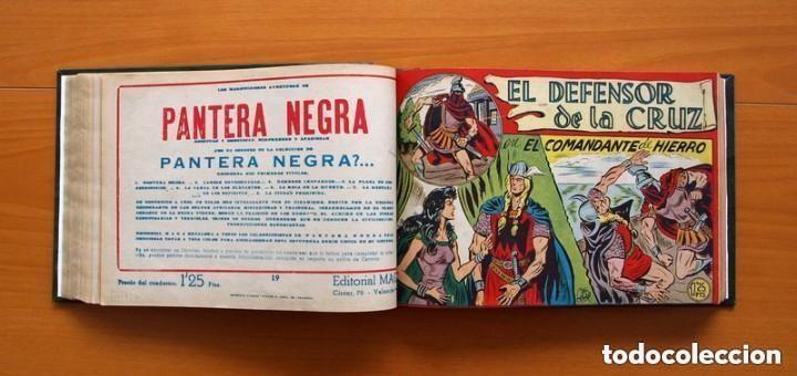 Tebeos: El Defensor de la Cruz - Colec. completa encuadernada - 54 tebeos, Editorial Maga en 1956, ver fotos - Foto 32 - 128247631